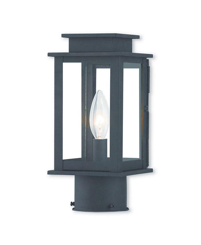 Livex - Princeton 1-Light Outdoor Post Lantern