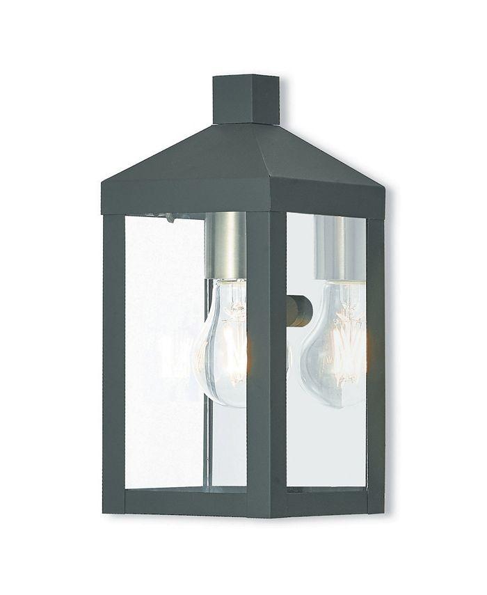 Livex - Nyack 1-Light Outdoor Wall Lantern