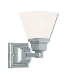 Livex Mission 1-Light Wall Sconce