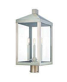 Nyack 3-Light Outdoor Post Top Lantern