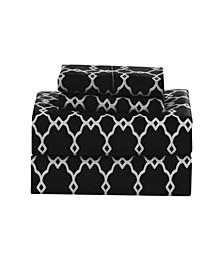 Calvin Geometric King Sheet Set