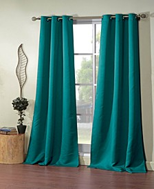 "Steyna 38"" x 84"" Blackout Curtain Set"