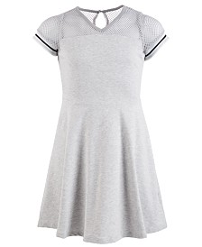 Us Angels Big Girls French Terry Skater Dress