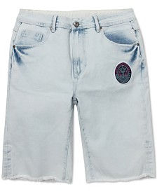 Born Fly Men's Flamingo Denim Shorts