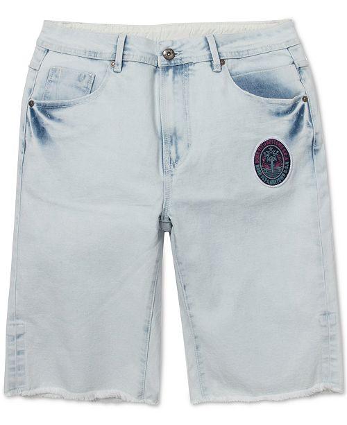 Born Fly Men's Flamingo Denim Shorts