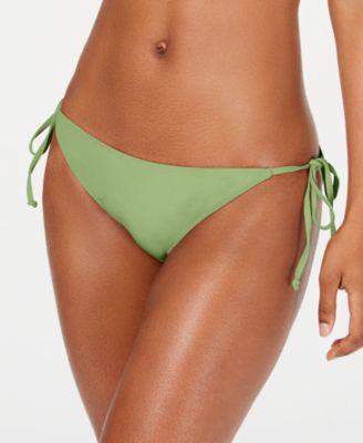 Juniors' Beach Classics Side-Tie Bikini Bottoms