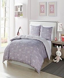 Malar Butterfly 2-Pc. Twin Comforter Set