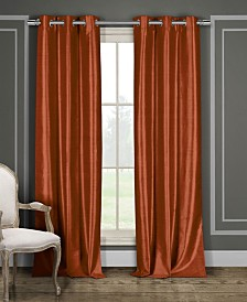 "Bali 38"" x 84"" Faux Silk Window Panel Set"