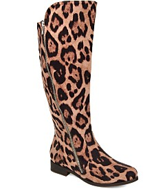 Journee Collection Women's Comfort Extra Wide Calf Kerin Boot