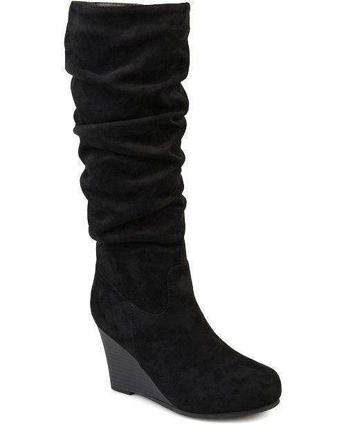Journee Collection Women's Wide Calf Haze Boot