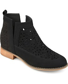 Journee Collection Women's Harrow Bootie