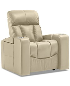 """Stratsford 39"""" Leather Theater Power Recliner"""