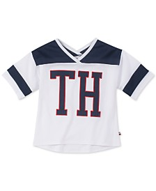 Tommy Hilfiger Big Girls Mascot Graphic T-Shirt
