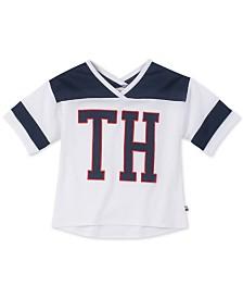 Tommy Hilfiger Big Girls Mascot Graphic T-Shirt