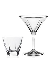 Fusion 8 Piece Martini Gift Set