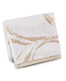 "13"" x 13"" Marble Turkish Cotton Fashion Wash Towel, Created for Macy's"