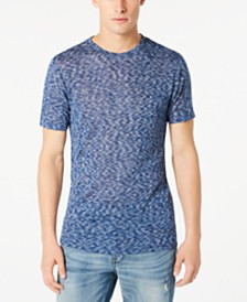 GUESS Men's Rainbow Space-Dyed T-Shirt