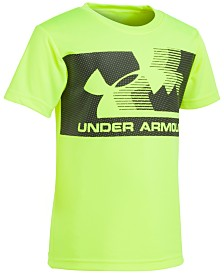 Under Armour Little Boys Graphic-Print Moisture Wicking T-Shirt