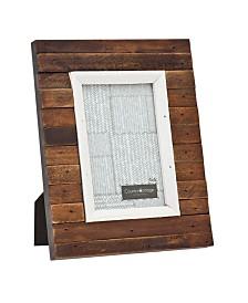 Philip Whitney Slatted Dark Frame - 4x6