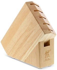 Zwilling J.A. Henckels Pro Rubberwood Studio Block with 6 Slots