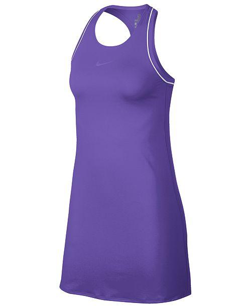 Nike Women's Court Dry Racerback Tennis Dress