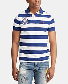 Men's Big & Tall Classic Fit Striped Cotton Polo