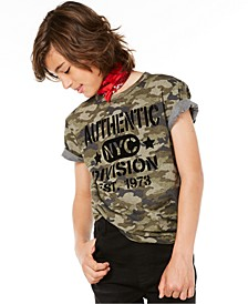 Big Boys Authentic-Print T-Shirt, Created for Macy's