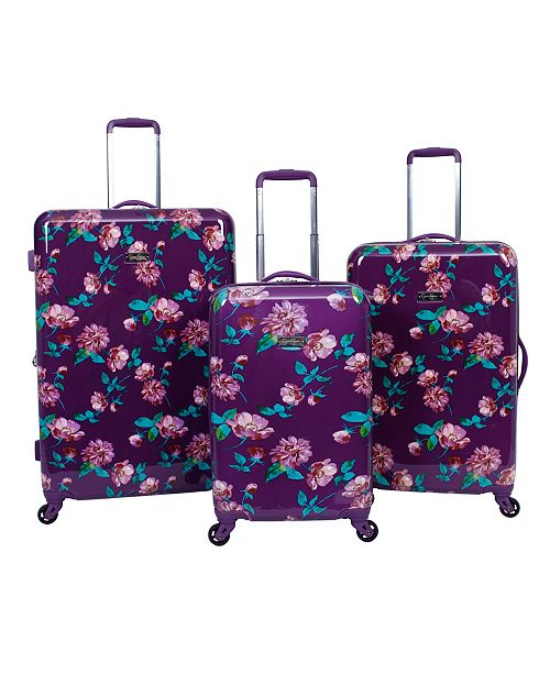 Jessica Simpson West Coast Hardside Spinner Luggage Collection