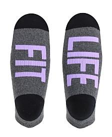 SOCK TALK Ladies' Low Cut Socks FIT LIFE