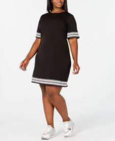 Shirt Dress Plus Size Dresses - Macy\'s