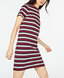 MICHAEL Michael Kors Striped T-Shirt Dress, in Regular & Petite Sizes