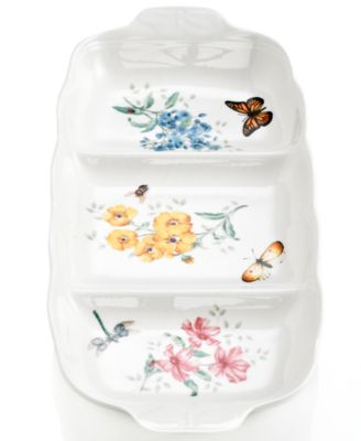 Dinnerware, Butterfly Meadow Divided Server
