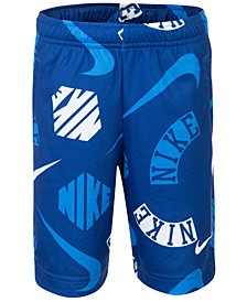 Little Boys Printed Dri-FIT Mesh Shorts