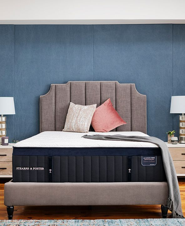 "Stearns & Foster Estate Hurston 14.5"" Luxury Firm Euro Pillow Top Mattress - California King"