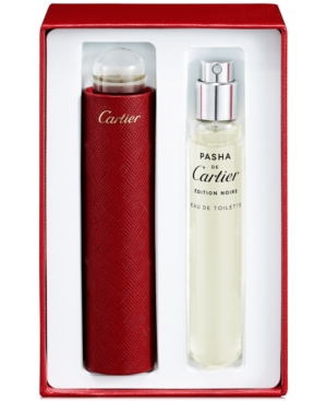 Image of Cartier 2-Pc. Pasha de Cartier Edition Noire Eau de Toilette Gift Set