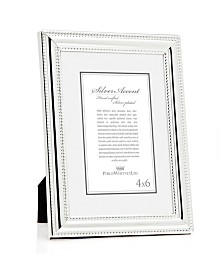 Philip Whitney Double Beaded Silver Frame - 4x6