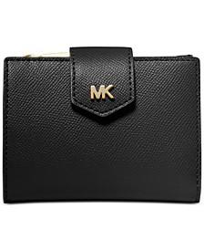 Crossgrain Leather Snap Billfold Wallet