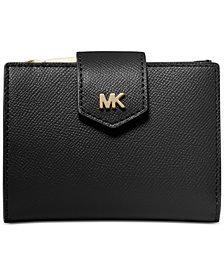 MICHAEL Michael Kors Crossgrain Leather Snap Billfold Wallet