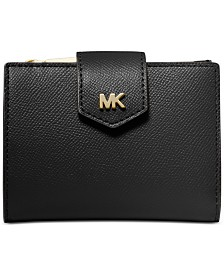 MICHAEL Michael Kors Crossgrain Leather Snap Billfold Wallet