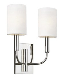 ED Ellen DeGeneres Brianna 2-Light Wall Sconce