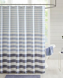 "Aviana Stripe 72"" x 72"" Shower Curtain"
