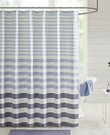 "Madison Park Aviana Stripe 72"" x 72"" Shower Curtain"