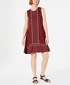 Petite Sleeveless Swing Dress, Created for Macy's