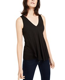 Michael Michael Kors Spliced Overlapping Top