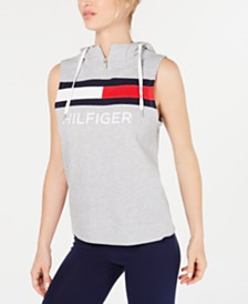 Tommy Hilfiger Sport Sleeveless Logo Hooded Top