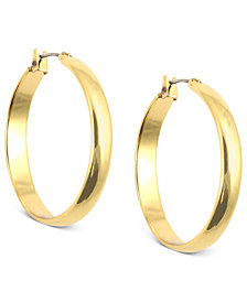 Anne Klein Click-It Hoop Earrings
