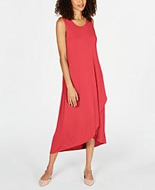 Petite Solid Tulip-Hem Dress, Created for Macy's