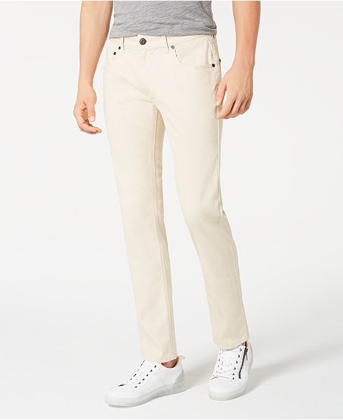 INC International Concepts INC Men's Slim-Straight Fit Stretch Jeans, Created for Macy's