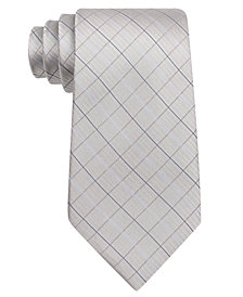 Calvin Klein Etched Grid Tie, Big Boys