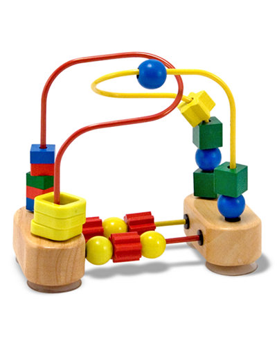 Melissa and Doug Kids Toys, First Bead Maze